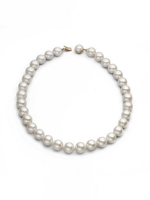 "Majorica 14MM White Pearl Strand Necklace/20"""