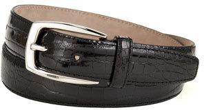 Brioni Shiny Crocodile Belt