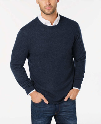 Club Room Cashmere Crew-Neck Sweater