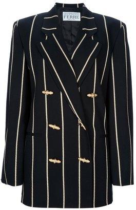 Gianfranco Ferre Vintage pin striped suit