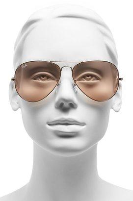 Ray-Ban Women's Large Original 62Mm Aviator Sunglasses - Blue Gradient