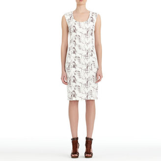 Rachel Roy Scoop Neck Dress