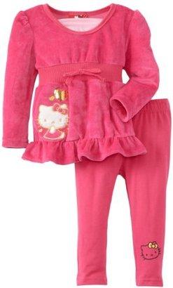 Hello Kitty Baby-Girls Infant Big Kitty and Heart Tunic Legging Set