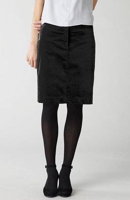 J. Jill Velveteen skirt
