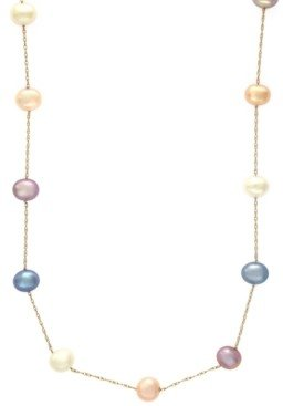 Effy Cultured Freshwater Pearl Necklace in 14k Gold (5-1/2mm)