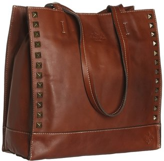 Toscano Patricia Nash - Pyramid Stud Tote (Rust) - Bags and Luggage
