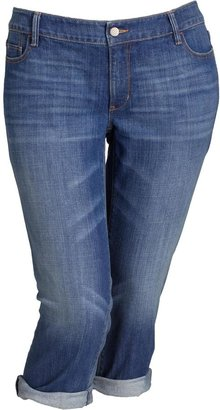 Old Navy Women's Plus Low-Rise Denim Capris