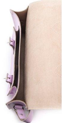 "Cambridge Silversmiths satchel Pastel 11"" Satchel"