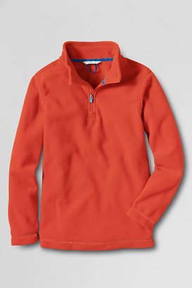 Lands' End Toddler Boys' ThermaCheck®-100 Fleece Half-zip Pullover