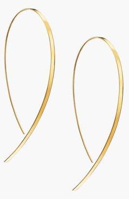 Lana 'Hooked On Hoop' Large Flat Earrings