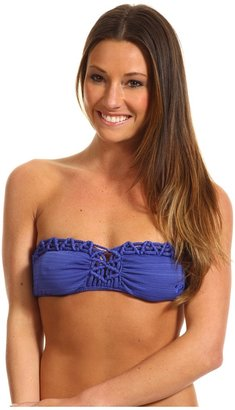 Roxy Naturally Beautiful Bandeau Top (Dynasty Green) - Apparel