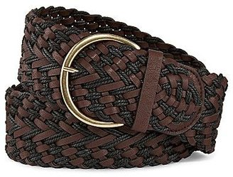JCPenney Loose Braided Belt