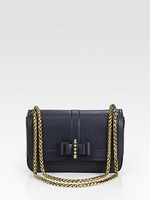 Christian Louboutin Sweet Charity Two-Tone Shoulder Bag