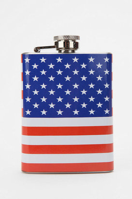 Urban Outfitters American Flag Flask