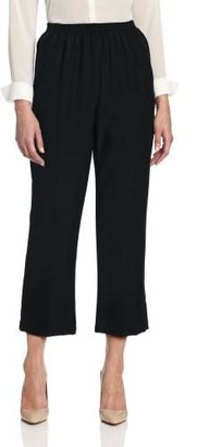 Alfred Dunner Women's Cropped Pant