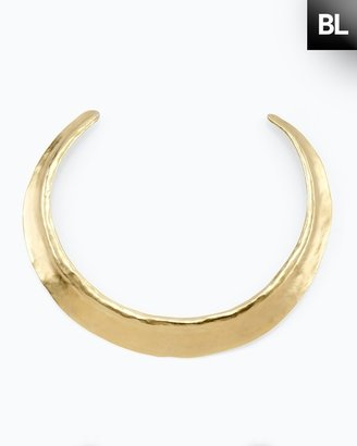 Chico's Black Label Gold Collar Necklace