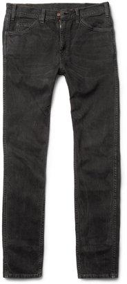 Levi's 1960 605 Orange Label Washed Slim-Fit Jeans