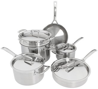 Le Creuset Tri-Ply 10-Piece Set (Stainless Steel) - Home