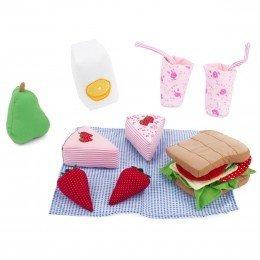 Oskar & Ellen Soft cooler bag and picnic set