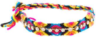 Asos Multicoloured Rhinestone Friendship Bracelets