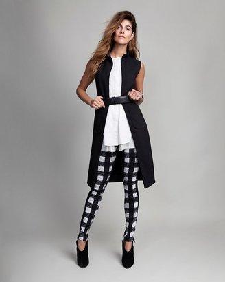 L'Agence Sleeveless Zip Front Dress