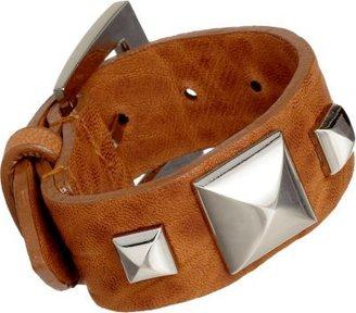 Fallon Saddle Classique Pyramid Buckle Cuff