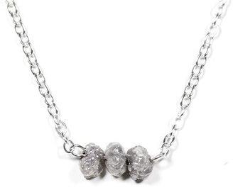 Urban Aviary Triple Rough Diamond Necklace