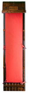 "Wooden Toboggan w/ Standard Pad, 72"""