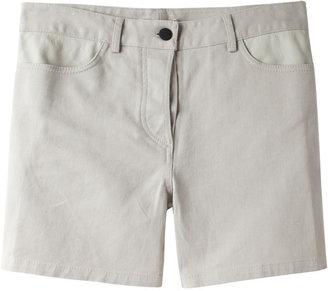 Alexander Wang Leather Yoke Short