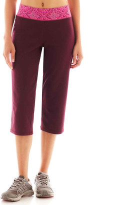 JCPenney Made For Life™ Print Waistband Capris