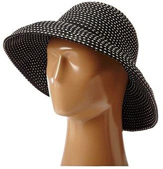 San Diego Hat Company RBM4784 Ribbon Kettle Brim Hat