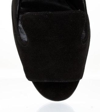 Manolo Blahnik Savila suede sling-back sandal