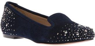 Lola Cruz studded loafer