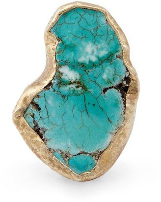 Sole Society Natural Turquoise Ring
