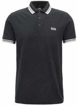 82eedb948 BOSS Hugo Cotton Polo Shirt, Modern Fit Paddy L Black
