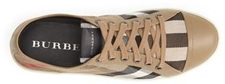 Burberry Check Print Sneaker (Women)