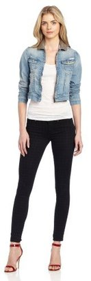 Maison Scotch Women's Jacket With Beaded Collar