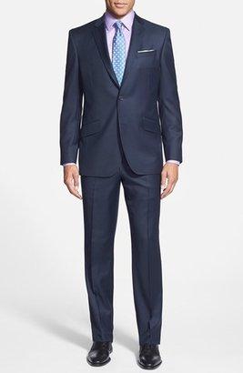 Men's Ted Baker London Jones Trim Fit Solid Wool Suit $695 thestylecure.com