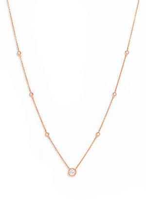 Kwiat Diamond Solitaire Necklace