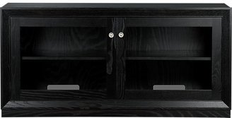 "Crate & Barrel Hayden Espresso 54"" Media Console"