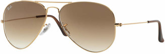 Ray-Ban AVIATOR GRADIENT Sunglasses, RB3025 62 $165 thestylecure.com