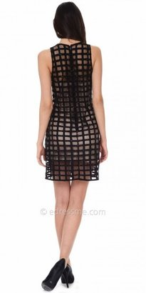 Phoebe Couture Daring Caged Cocktail Dress