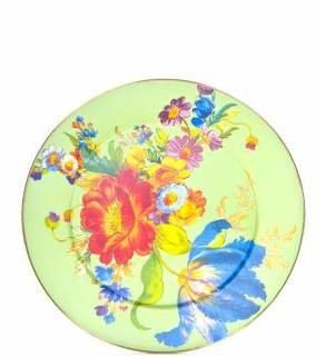 Mackenzie Childs MacKenzie-Childs Flower Market Enameled Platter