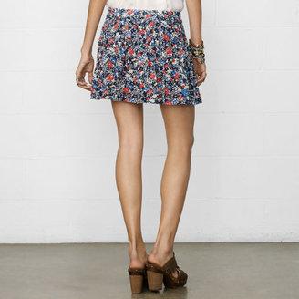 Denim & Supply Ralph Lauren Rosebud Pleated Miniskirt