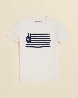 John Varvatos Boys' Peace Flag Tee - Sizes S-XL