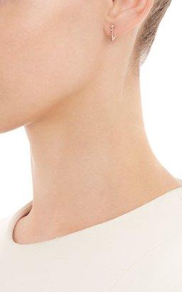 Wendy Nichol Women's Triangular Hoop Earrings-Colorless