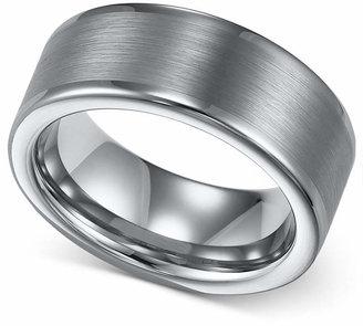Triton Men Tungsten Ring, 8mm Wedding Band