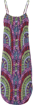 Mara Hoffman Printed crepe dress