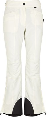Moncler Technical Off-white Nylon Trousers