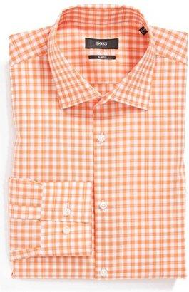 HUGO BOSS 'Jenno' Slim Fit Easy Iron Dress Shirt